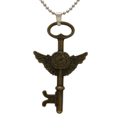 Craftsvilla Antique Gold Plated, Key To Heaven, Chain Pendant Locket Necklace Jewellery For Men And Women