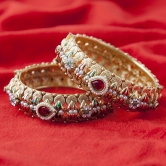 Inaya Must Have Red Coloured Fashionable Bangles