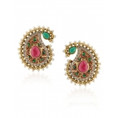 Paisley Pink Pearl Delight Earring