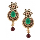 Sage Green Floral Delight Earring