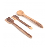 Wooden Ladles (set Of 3)