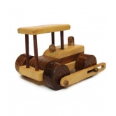 A Basic But Appealing And Funny Wooden Dumper Truck By Desi Karigar. The Dumper Truck Is Hand Made And Produced Out Of Sustainable Natural Wood. The Dumper Truck Can Drive On Its Four Moving Wheels. This Wooden Toy Is A Nice Toy To Play With And To Stimul