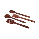 Wooden Spatula And Ladle Set Pack Of 4