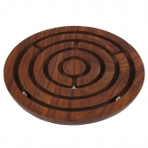 Desi Karigar Wooden Labyrinth Board Game Ball In Maze Puzzle Handcrafted In India - Christmas Jigsaw Puzzle
