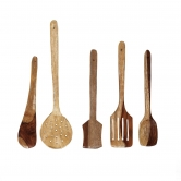 Wooden Spoon Set Of 5