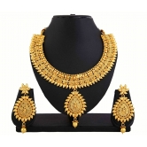 425 Gold Plated Antique Designed Set For Women