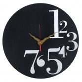 1 To 7 Number Clock