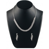 Diamond Necklace And Earring Imitation Jewelry 208