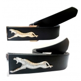 Combo Of 2 Black & Brown Casual Leather Belt For Men Combo Of 2