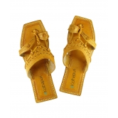 Ekolhapuri Classic Kolhapuri Design , Leather Women Sandal