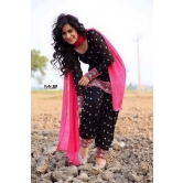 Black Patiyala Salwar Suit (blk)