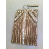 Golden Mobile Pouch
