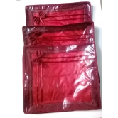 Saree Cover Longlife Fabric ,high Quality  For Heavy Work Sarees,collection Of Set Of 3 Saree Cover