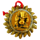 Small Surya Murti Ganesha Door / Wall Hanging