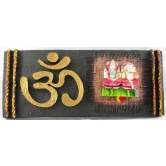 Laxmi / Lakshmi And Ganesha Door / Wall Hanging With Om