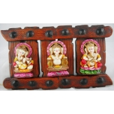 Instrument Ganesh Set Of 3 - Door / Wall Hangings