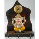 Small Key Holder Ganesha Door / Wall Hanging