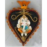 Small Leaf Design Ganesha Door / Wall Hanging