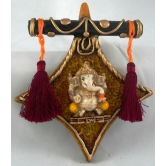 Triangle Dandi Ganesha Door / Wall Hanging