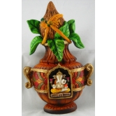 Kalash Ganesha Wall / Door Hanging