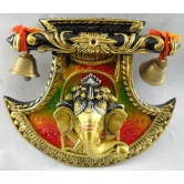 Small Fan Face Ganesha Door / Wall Hanging