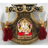 Medium Fan Ganesha Door / Wall Hanging