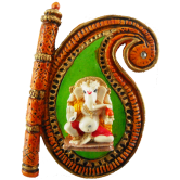 Small Fan Design Ganesha Door / Wall Hanging