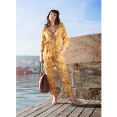 Hotcreation New Latest Yellow Colour Stitched Designer Jumpsuit