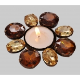Designer Table Floral Tea Light Table Stand Rakhi Diwali Christmas  Gift
