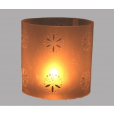 Floral Design Tea Light Rakhi Diwali Christmas Gift Table Lamp