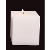 Indigo Creatives Designer White Candle Gift