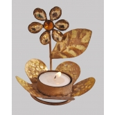 Designer Flower Plant Table Tea  Light  Rakhi Diwali Christmas Gift