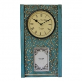 Clock With Photo Frame