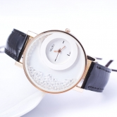 Fancy  Ledher Belt Ladies Watch Jm86