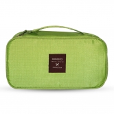 Multi-functional Travel Organizer Cosmetic Make-up Bag Portable Luggage Storage Pouch Green-pu25121