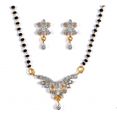 Lovely Mangalsutra Set By Luxor 1609