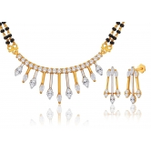 Gold Plated Mangalsutra With A Unique Design