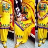 Yellow Patiyala Dipawali Latest Salwar Suit
