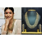 Anushka Sharma Famous Jewelry Set With Goldenoutline