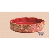 Earthen Decorative Bowls -flower Shape -  Redefining Tradition - 196rp   - Online Shopping For Diyas And Lights By Muhenera