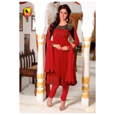 Semi Stitched - 3 Piece Dress Material. In Georgette Material. A Muhenera Collection.8543
