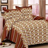Always Plus Printed 100% Cotton Double Bedsheet With 2 Pillow Cover