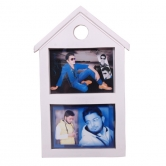 Onlineshoppee Wooden And Antique Photo Frame Size(lxbxh-9x1x15) Inch Color-white