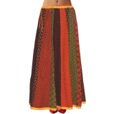 Pezzava Multi Printed Cotton Long Skirt