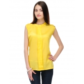 Collar Chain Yellow Top By Purple Oyster