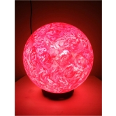 Cotton Candy Lollipop Lamp-hand-painted Textured Table Lamp