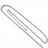 Two Line Silver Belly Chain
