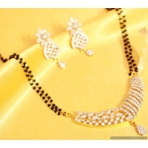 Diamond Look Party Wear Mangalsutra