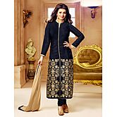 Black Embroidered Ch...