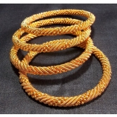 Golden Jaali Bangles Set Of 4 Pc